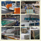 Table Football Board로 6mm Blue Printing Toughened Glass