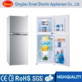 Feito no congelador do refrigerador do armazenamento frio do refrigerador da porta dobro do refrigerador de China