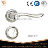 Ручка рукоятки двери сплава цинка плиты никеля и крома (Z6144-ZR13)
