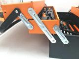 гнездо и гаечный ключ случая инструментов 85PCS установленные с коробкой металла