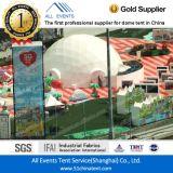 Tienda de campaña geodésica con PVC 850 g / m²