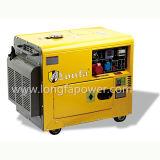 5 kVA, 6 kVA Silent Diesel Generator con ATS