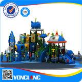 Équipement extérieur de cour de jeu de glissière en plastique d'enfants (YL-X151)
