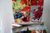 Chariot quotidien de supermarché de fruit fait de polyester et métal