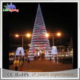 Гигантский напольный свет рождественской елки рекламы СИД 8m спиральн