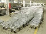 Chariot plat à entrepôt de cargaison de mémoire logistique de Supermarekt
