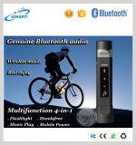 Neuer Lautsprecher-Energien-Bank-Taschenlampen-Lautsprecher des Fahrrad-2016