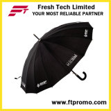 23 * 16k Auto Open Straight Umbrella para Pure Color
