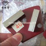 Диамант трапецоида металла HTC меля полируя истирательный для конкретного Terrazzo