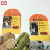 Animal de Gator de koala de kangourou avec le jouet d'animal familier de bruit de Squeaker de Bb