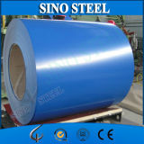 일본 Lacquer 0.45mm Thickness Ral5015 Color Coated Steel Coil