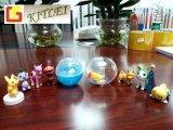 Jouet en plastique de vente chaud de capsule d'oeufs de jouet de coquille d'oeuf de jouet