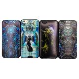 In het groot Transparante Mobiele van het Merk/van het Embleem/de Dekking/het Geval van de Toebehoren van de Telefoon van de Cel voor iPhone 5/6/6 plus