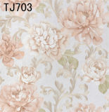 Nuevo papel pintado del PVC del hogar de la manera de la alta calidad (450g/sqm)