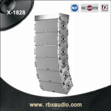 X-1828 verdoppeln 2wegberufszeile Reihen-Lautsprecher-Audiosystem