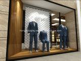 Vêtement Shopfitting, décoration de système de vêtements d'hommes, étalage d'hommes de mémoire