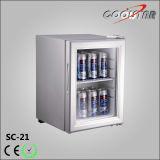 Einzelne Glaskleinkapazitätstür-Minibildschirmanzeige-Getränkekühlvorrichtung (SC21)