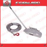 Câble métallique tirant le corps d'aluminium d'élévateur