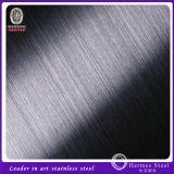 201 304 316 feuille d'acier inoxydable de fini de 430 déliés pour des panneaux de mur intérieur