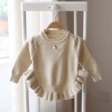 2016명의 소녀 로터스 잎 단 스웨터 복장 Yf1603의 봄에서