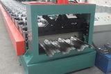 Rolo da chapa de aço do Decking do assoalho que dá forma à máquina