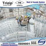 Stehendes Naht-Dach-Systems-Aluminiumdach-Panel