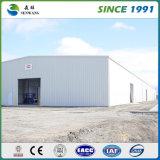 Ordnungs-helles Stahlaufbau-Lager/Zelle mit Kran wiederholen