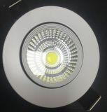 Утопленный СИД светильник потолочного освещения освещения панели УДАРА потолка круглый