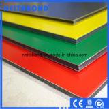 El panel compuesto de aluminio de la pared de PVDF de la hoja de aluminio del revestimiento (ACP)