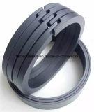 Anillo llenado fibra de Ring&Guide del pistón del carbón de PTFE