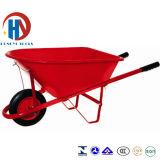 Carrinho de mão de roda plástico da bandeja Wb6414 com mercado americano