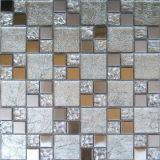 Mosaico del vidrio cristalino del bloque del color para construir Matrial (VMW3206)