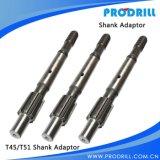 R22, R25, adaptateur de partie lisse de foret d'amorçage de R28 T38 T45 T51
