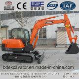 Máquina escavadora 5.5t da esteira rolante da maquinaria de Baoding mini com motor de Yanmar