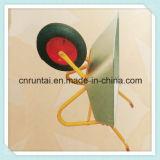 Wheelbarrow resistente chapeado zinco da ferramenta industrial