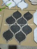 China-Fabrik-billig schwarzes Marmorpoliermosaik
