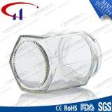 170ml 팔각형 모양 꿀 유리 그릇 (CHJ8021)