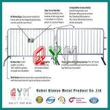 Гальванизированная загородка стальной нержавеющей стали барьера управлением толпы временно