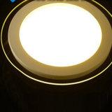 luz del panel redonda blanca de 12W AC95-240V LED