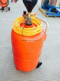 Máquina del uso del agua dos de la cera de la espuma del barril del acero inoxidable