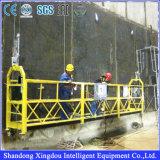 Gondole des prix du produit 2017 de la Chine construisant la machine de mélangeur concret avec la plate-forme actionnée par Zlp des prix de levage