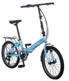 Alloy leggero Folding Bicycle con Shimano Derailleur e Shifter