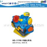 屋外の子供の硬貨のゲームの電気おもちゃPlaysets (HD-11705)