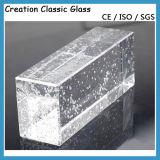 mattone di vetro libero o colorato di 190*190*80mm del Ostruire-Vetro (per la parete)