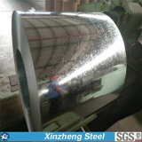 Bobine en acier galvanisée/tôles d'acier plongées chaudes de Gi pour la feuille de toiture