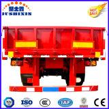Rimorchio pratico dei 3 BPW del fornitore assi di Jushixin della rete fissa del carico di successo del camion da vendere