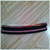 Mangueira hidráulica de borracha trançada projetada especial do fio de aço (1sn 2sn r1at r2at r1 r2)