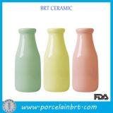 Botella reutilizable de la bebida del pequeño del agua perfume fresco decorativo de cerámica del vino