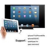 추려낸 iPhone, iPad 및 iPod 모형을%s 번개 디지털 AV 접합기