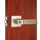 Segretezza Key Tubular Door Lock in Satin Nickel
